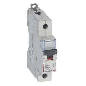 Автоматический выключатель Legrand DX3 1П B20A 6000/10kA (автомат)