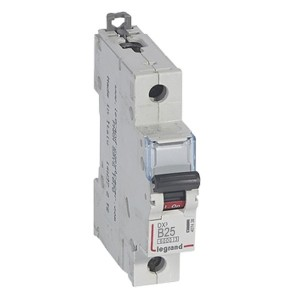 Автоматический выключатель Legrand DX3 1П B25A 6000/10kA (автомат)
