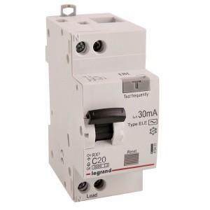АВДТ Дифавтомат Legrand RX3 1П+Н 20А 30мА 6kA тип AC