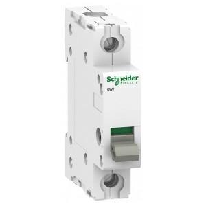 Выключател нагрузки iSW Acti 9 Schneider Electric 1П 63A (модульный рубильник) 1 модуль