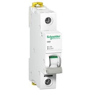 Выключател нагрузки iSW Acti 9 Schneider Electric 1П 125A (модульный рубильник) 1 модуль