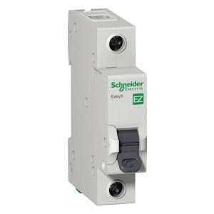 Автоматический выключатель Schneider Electric EASY 9 1П 25А B 4,5кА 230В (автомат)