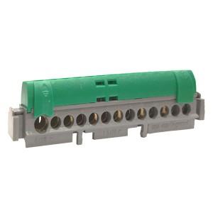 Клеммник Legrand зеленый 1х6-25+12х1.5-16мм2
