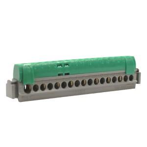 Клеммник Legrand зеленый 1х6-25+16х1.5-16мм2