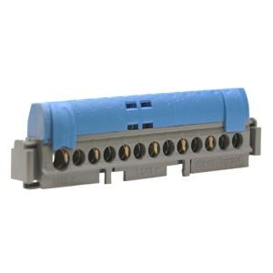 Клеммник Legrand синий 1х6-25+12х1.5-16мм2