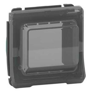 Крышка для коробки под исталляцию Unica, Mureva Styl IP55 Schneider Electric Антрацит