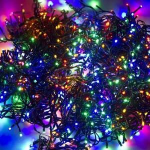 Гирлянда LED ClipLight 24V, 3 нити по 10 метров, цвет диодов Мульти