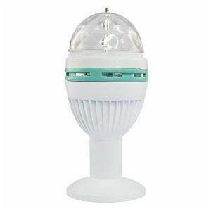 Диско-лампа светодиодная e27, подставка с цоколем e27 в комплекте, 220В