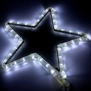 Фигура Звездочка 36 LED тепло-белый, размер 30x28см IP65