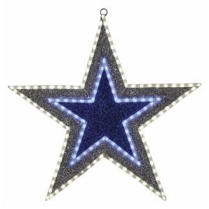Фигура Звезда бархатная 81LED с постоянным свечением зеленого/белого/голубого цвета 61см, IP65