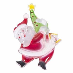 Санта-Клаус с елочкой RGB на присоске