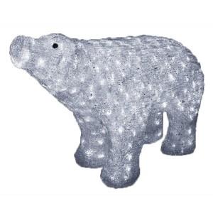 Акриловая светодиодная фигура Белый медведь 80x55см 400LED 36W 24V IP44 трансформатор в комплекте