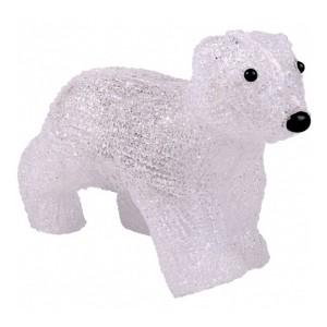 Акриловая светодиодная фигура Медвежонок 16LED 24х11х18см Питание от 3AA (не входят в комплект)