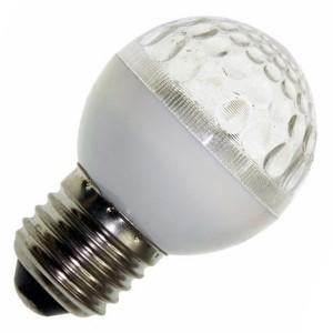 Лампа строб e27 D50мм прозрачная