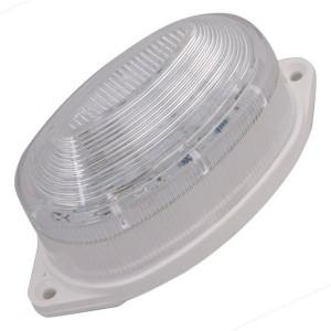 Лампа-строб накладная 30 LED желтая 109x60x44mm (20 млн. вспышек)