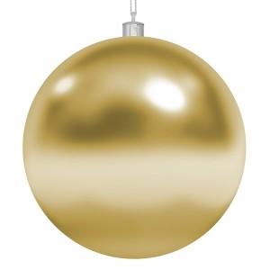 Елочная фигура Шар, 15 см, цвет золотой