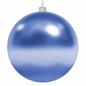 Елочная фигура Шар, 15 см, цвет синий