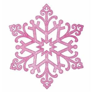 Елочная фигура Снежинка Снегурочка, 81 см, цвет фиолетовый