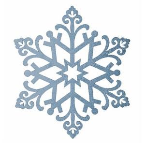 Елочная фигура Снежинка Снегурочка, 81 см, цвет голубой
