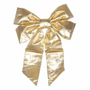 Елочная фигура Бантик 61 см, цвет золотой