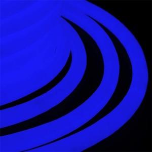 Гибкий Неон LED 360° синий, круглый D19мм 96LED/3,6Вт/м, IP54 бухта 50м