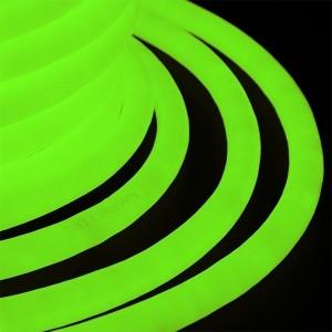 Гибкий Неон LED 360° зеленый, круглый D19мм 96LED/3,6Вт/м, IP54 бухта 50м