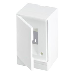 ABB Basic E Бокс настенный 2М белая непрозрачная дверь (без клемм) BEW401202