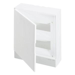 ABB Basic E Бокс настенный 24М белая непрозрачная дверь (с клеммами) BEW401224