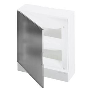 ABB Basic E Бокс настенный 24М серая прозрачная дверь (с клеммами) BEW402224