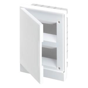 ABB Basic E Бокс в нишу 16М белая непрозрачная дверь (c клеммами) BEF401216