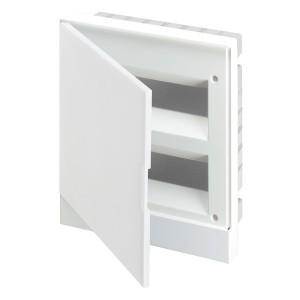 ABB Basic E Бокс в нишу 24М белая непрозрачная дверь (c клеммами) BEF401224