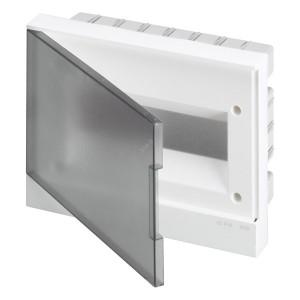 ABB Basic E Бокс в нишу 12М серая прозрачная дверь (c клеммами) BEF402212