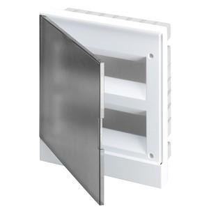ABB Basic E Бокс в нишу 24М серая прозрачная дверь (c клеммами) BEF402224