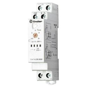 Реле многофункциональное шаговое/моностабильное со сбросом, 1NO 16A 110-240В АC/DC на DIN-рейку