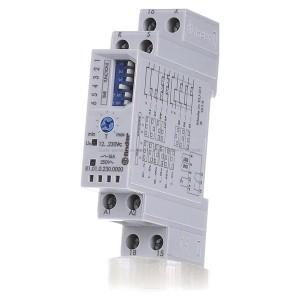 Модульный многофункциональный таймер 16A 12-240В AC/DC на DIN-рейку