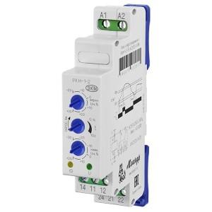 Однофазное реле контроля напряжения РКН-1-2-15 АС230В УХЛ4 задержка включения 6 мин