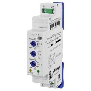 Однофазное реле контроля напряжения РКН-1-5-15 AC230В УХЛ4 оптронный выход  УХЛ4