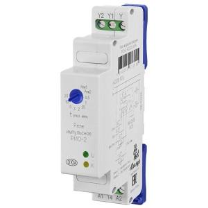 Импульсное реле освещения РИО-2 АС230В УХЛ4  + встроенный таймер на срабатывание от 0,5мин. до 20мин