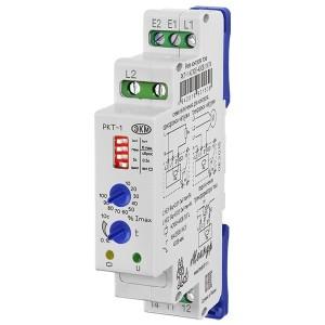 Реле контроля тока РКТ-1 АС100-265В УХЛ4 диапазон контролируемых токов до 1А или до 5А