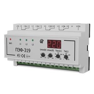 Универсальный автоматический электронный переключатель фаз ПЭФ-319 на дин-рейку