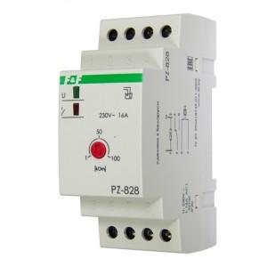 Реле контроля уровня жидкости PZ-828 16А, 1NO/NC, один контролируемый уровнь