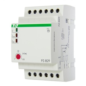 Реле контроля уровня жидкости PZ-829 16А, 2NO/NC, два контролируемых уровня
