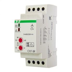Реле контроля наличия/асимметрии/чередования фаз CKF-BR асим. 40-80В, задерж. откл. 0,5-15c, 1NO 1NC