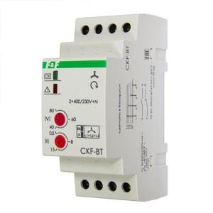 Реле контроля наличия/асимметрии/чередования фаз CKF-BT асим 40-80В, задерж. откл. 0,5-15с, 1NO, 1NС