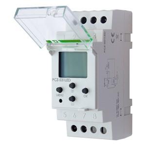 Реле времени рассвет-закат PCZ-531LED для светодиодных ламп и лент 9-30В