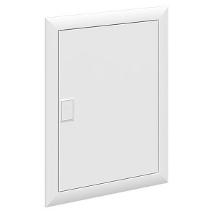 Дверь белая АВВ RAL 9016 для шкафа UK620 BL620