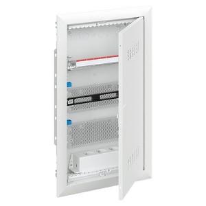 Шкаф мультимедийный с дверью с вентиляционными отверстиями UK636MV (3 ряда)