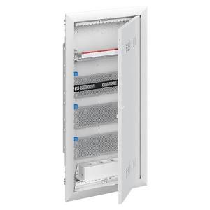 Шкаф мультимедийный с дверью с вентиляционными отверстиями UK648MV (4 ряда)