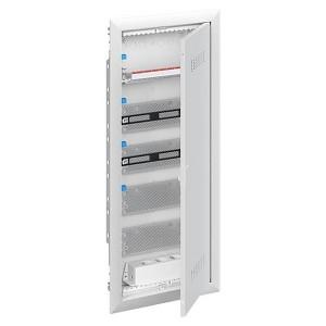 Шкаф мультимедийный с дверью с вентиляционными отверстиями UK660MV (5 рядов)