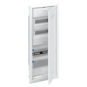 Шкаф комбинированный  АВВ с дверью с вентиляционными отверстиями (5 рядов) 24М UK662CV